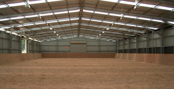 Large Structual Equine Arena