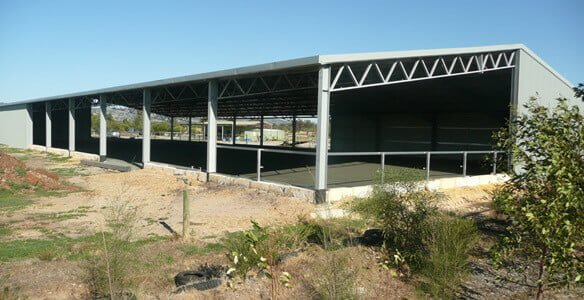 Open sided Equine Arena
