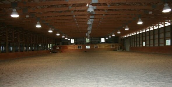 Large structual horse arena