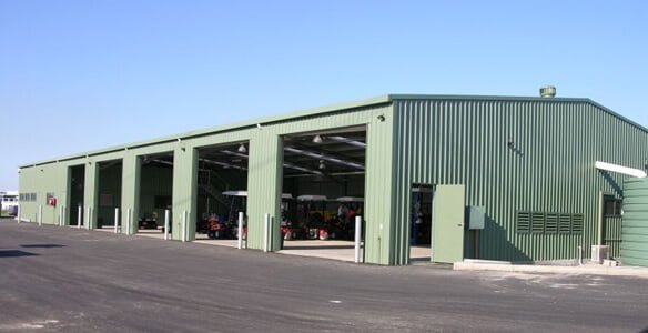 Commercial Shed Designs & Installs
