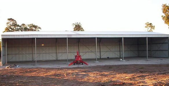 Large Hay Shed
