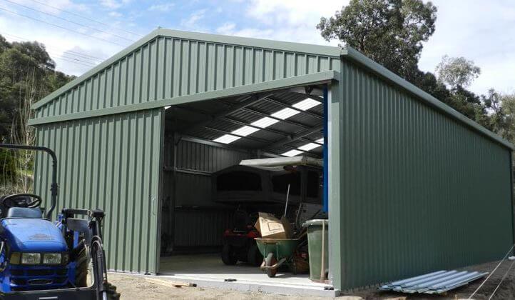 Advantages of a sliding garage door perth action sheds for Versatile sheds prices