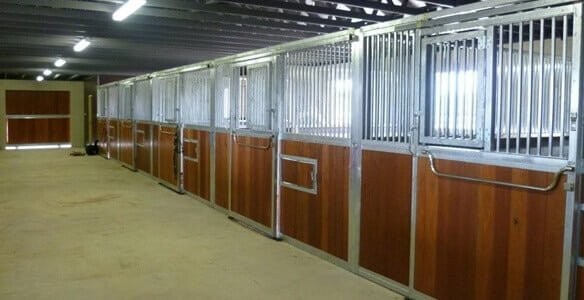High quality horse stables