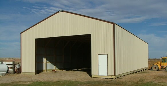 Storage Sheds for Hay
