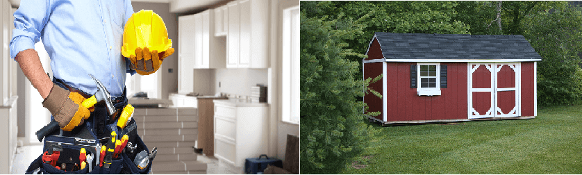 Make Your Shed Liveable While You Renovate Your Home
