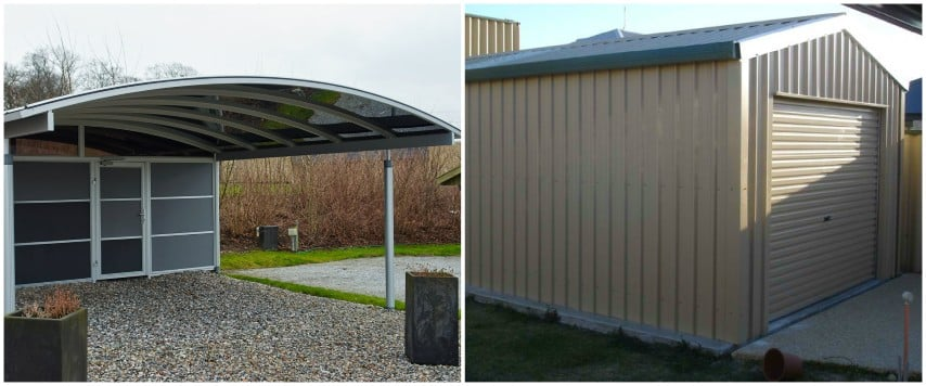 Carport or Garage by Shed Providers
