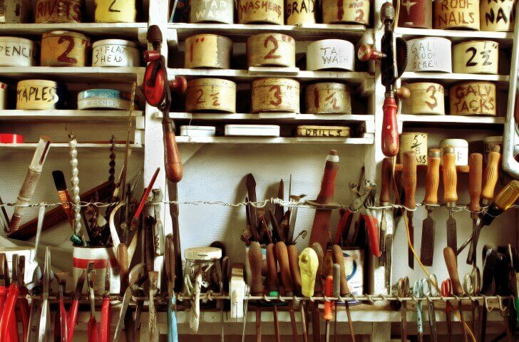 Maximising Organisation in your Shed