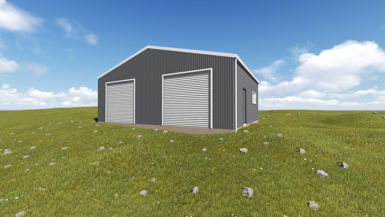 Building A Shed On Sloping Land Action Sheds
